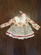 Girls Size 2t Sweet Honey Dress New With Tags