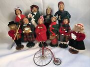 8 Byers' Choice Christmas Carolers Collection +3 Unbranded Set Of 11 A4