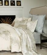 Michael Aram Palm King Duvet Cover,2king Pillowcases,flat+fitted Sheets. New