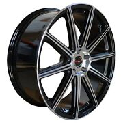 4 G42 20 Inch Black Rims Fits Ford Focus Electric 2013 - 2019