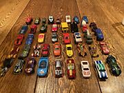 Misc. Hot Wheels Mattel Toy Car Lot 42 Cars Various Styles And Models