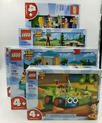 Lego Toy Story 4 - 5 New Sealed Sets 10767 10766 10768 10769 10770 Carnival
