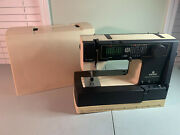 Vintage Viking Husqvarna 190 Sewing Machine And Case Untested - For Parts/repair