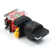 Panel Mounted 2/3position Rotary Selector Latching Push Button Switch La36