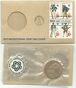 Uncirculated 1975 Paul Revere Medal-bicentennial First Day Cover-mar001