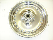 Harley-davidson Motorcycle Front Wheel Hole Chrome 17x3 P/n 43590-09 1 New A1