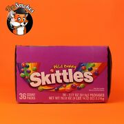 Skittles Wild Berry Candy 2.17-ounce 36 Individual Packs Free Expedited Shipping