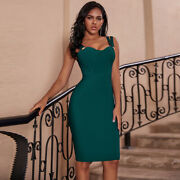 Azalie Boutique Brooch Button Bandage Dress Inspired By A House Of Cb Design