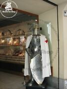 Medieval Armor Knight Armour Combat Full Body Suit Of Templar With Sword