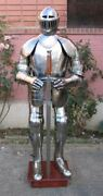 Collectibles Vintage Wearable Knight Crusader Full Armor Suit Armor Costume