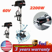 Sale 60v Outboard Motor Engine Brushless Motor Pure Copper Core Motor 2200w
