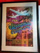 Jefferson Airplane Original 2004 Movie Poster Signed By All 4 Band Members