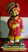 Advertising Air India Maharaja Statue Vintage 3 Feet Tall By 30. By W13.5
