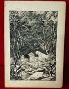 Kurt Wiese Silver Chief Original Book Published Artwork Signed