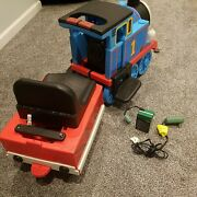 Vintage Peg Perego Thomas The Train Ride On With Battery And Charger