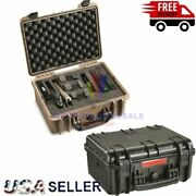 Handgun Pistol Hard Case Heavy Duty Cary Outdoor Storage Security Safety Hunting