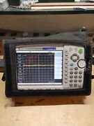 Anritsu Mt8222a Bts Master Sweep Tester W/options 19/25/27/28/31/33/34/42/62/63