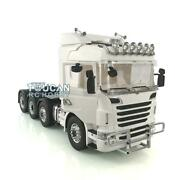 Lesu 1/14 88 Tractor Truck Metal Chassis Hercules Scania Bumper Lights Grille