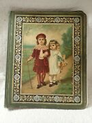 1883 Victorian Trade Card Album Cover With Cards And 15 Empty Pages Beautiful