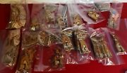 Ideal Vintage Built Rite Army Playset Wwii 1940and039s Toy Soldier Lot 120-used