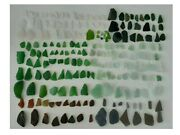 200 Pieces Exclusive Lot Genuine Beach Sea Glass Natural Surf Tumbled Multicolor