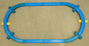Thomas The Tank Engine Blue 2m Oval Track With Bridge Girders 14 Pieces
