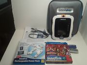 Vtech Innotab 3 Learning System W/ Case And 3 Games 1 New Game And Power Pack 8