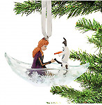 Disney store Anna And Olaf 2020 Ornament Fairy Tail Christmas Limited Frozen 2cute