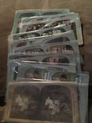 Lot Of 18 Stereograph Cards