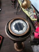Antique 1900's Ship Sperry Gyroscope Compass. Solid Heavy Brass