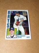 2019 Topps Update Silver Pack 1984 T84u-42 Brandon Lowe Rc Rookie Tampa Bay Rays