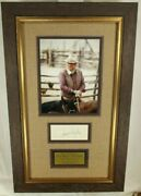 John Wayne And039the Dukeand039 Iconic American Actor Autograph Display Psa Authenticated