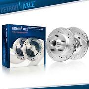 Front Drilled Brake Rotors For Chevy S10 Blazer El Camino Gmc S15 Jimmy Sonoma