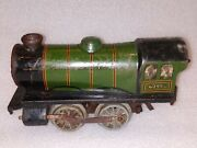 Hornby England Made Steam Train Engine Toy 1921 Old Vintage Winding Operated