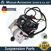 Rolls-royce Phantom And03903-17 Air Suspension Compressor W/valve And Relay 37226787617