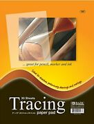 Bazic Clear Tracing Paper Pad For Drawing, Tracing, And 9-1/4 X 11,
