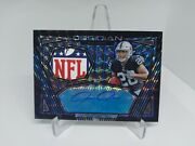 Josh Jacobs Rc Obsidian Rpa 1 Of 1 Nfl Patch Auto