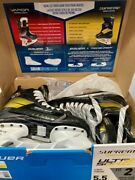 Buaer Supreme Ultrasonic Int 5.5 Fit 2 Skates Demo Skated On For 1 Ice Session