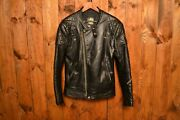 Lewis Leathers Aviakit Super Monza 1970 Cafe Racer Motorcycle Leather Jacket 44l