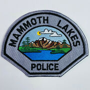 Mammoth Lakes Police Mono County California Patch