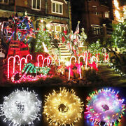 100 Led Christmas Tree Fairy String Party Light Out/indoor Xmas Lamp Connectable