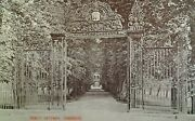 Cambridge Uk Postcard Early 1900s Rare Trinity College Gateway Wrought Iron