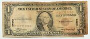 1935 A Series One Dollar Silver Certificate 1 Hawaii Note