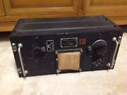 Wwii Us Army Signal Corps Transmitter Tuning Unit General Elec 2 Left
