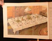 1892 The Book Of Household Management Isabella Beeton New Ed Illus Folding Plate