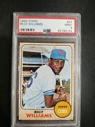 1968 Topps Billy Williams 37 Psa 9 High End Centered