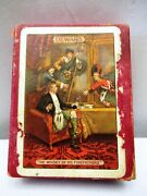 Vintage Dewarand039s Whisky Advertising Playing Cards Deck Scotsman Gent Drink Scots