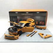 Diecastmaster 118 Scale 2019 Ford Mustang Gt Detachable Car Model Diecast Alloy