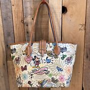 Dooney And Bourke Disney Sketch Large Tote Discontinued