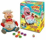 Pop The Pig Game From Goliath Ages 4+ Popping Pig Action Game For Kids New